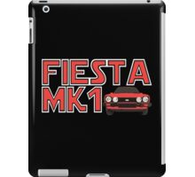 Retro Mk1 Fiesta Classic Car Men's T-shirt iPad Case/Skin