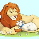 Lion and Lamb by Aja Wells