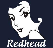 Miss Redhead (text) [iPhone / iPad / iPod case | Tshirt | Print] Kids Clothes