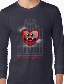 SET YOURSELF FREE (HEART) Long Sleeve T-Shirt