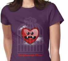 SET YOURSELF FREE (HEART) Womens Fitted T-Shirt