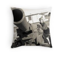 cannooon Throw Pillow