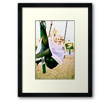 happy Framed Print