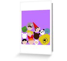 Cartoon Network tsum tsum fall Greeting Card