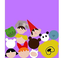 Cartoon Network tsum tsum fall Photographic Print