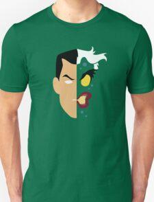 Harvey Dent Two Face Minimalistic Design Unisex T-Shirt