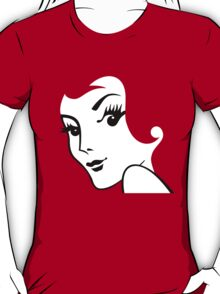 Miss Redhead [iPhone / iPad / iPod case / Tshirt / Print] T-Shirt