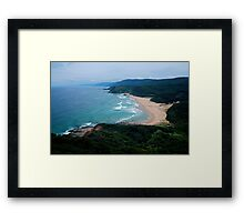 Garie Beach, Royal National Park  Framed Print
