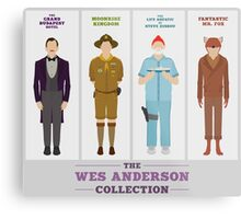Wes Anderson Collection Metal Print