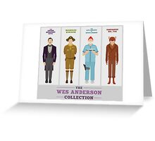 Wes Anderson Collection Greeting Card