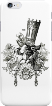Queen Lyalynne (iphone case art) by Philomena Primrose