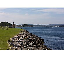 Swansea Foreshore Photographic Print