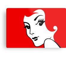 Miss Redhead [iPhone / iPad / iPod case / Tshirt / Print] Metal Print