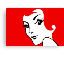 Miss Redhead [iPhone / iPad / iPod case / Tshirt / Print] Canvas Print