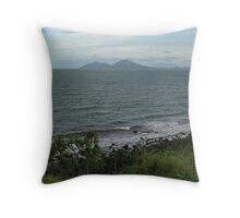 Dunk Island from Clump Point Throw Pillow