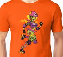 Zombie Derby Doll Unisex T-Shirt