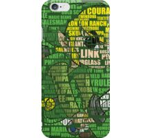 Zelda - Word Art iPhone Case/Skin