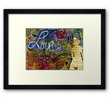ROSEBUD Sings a Sweet LOVE Lullaby Framed Print
