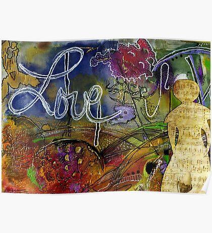 ROSEBUD Sings a Sweet LOVE Lullaby Poster