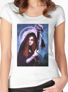 Black Magic Woman Women's Fitted Scoop T-Shirt