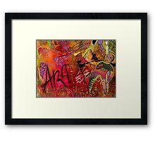 ART Framed Print