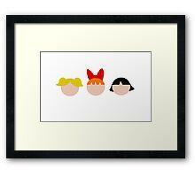The Powerpuff Girls Framed Print