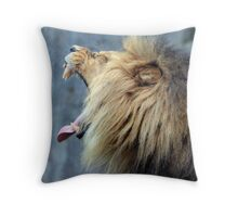 Now that is a yawn Throw Pillow