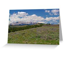 The Mountain View Greeting Card