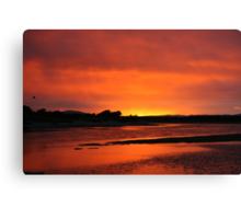 Estuary Sunrise Canvas Print
