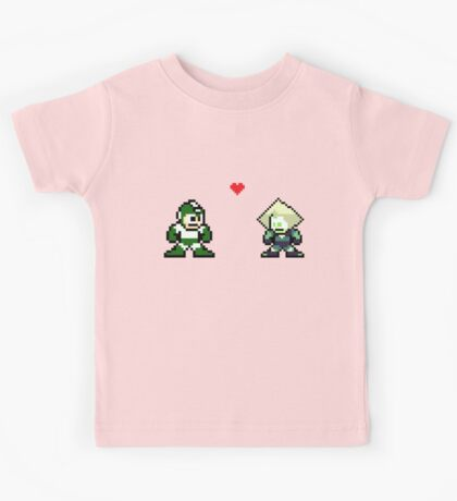 Megaman And Peridot Kids Tee