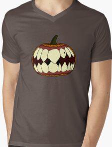 Beware of the pumpkin. Mens V-Neck T-Shirt