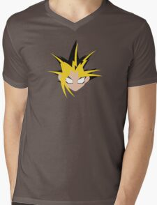 Yu-Gi-Oh! Minimalistic Design Mens V-Neck T-Shirt