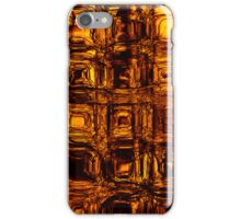 Golden circuitry - phone and iPod skin iPhone Case/Skin