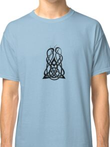 Trinity Fire A - Knotwork - Black Classic T-Shirt