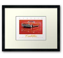 1959 Cadillac Eldorado Biarritz ver 2 Framed Print