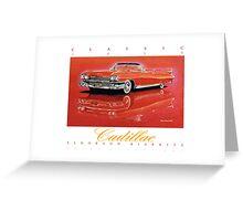 1959 Cadillac Eldorado Biarritz ver 2 Greeting Card