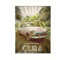 From Cuba Art Print