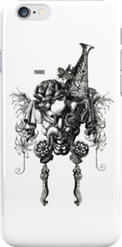 Queen Bahl (iphone case art) by Philomena Primrose