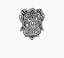 Bracer Knot A - Celtic Knotwork - Black Unisex T-Shirt