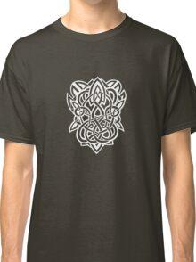Bracer Knot A - Celtic Knotwork - White Classic T-Shirt