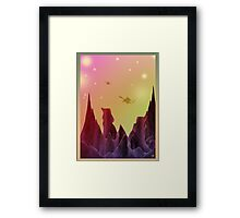 Star Dragons Framed Print