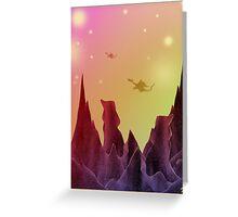 Star Dragons Greeting Card