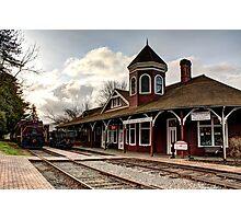 Snoqualmie Depot Photographic Print