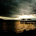 Fishing Pier at Lake Dardanelle by DonCondley