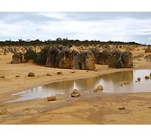 The Pinnacles # 2 [after Rain ]Western Australia  Photographic Print