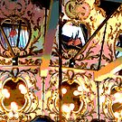 Carousel - Lights and Mirrors by Lee Anne French