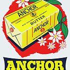 Anchor Butter Poster by Darian  Zam