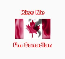 Kiss Me I'm Canadian Unisex T-Shirt