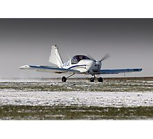 Snowy take-off Photographic Print