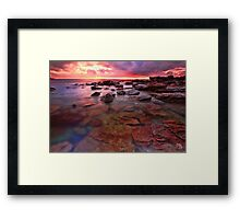 Beneath the Surface Framed Print